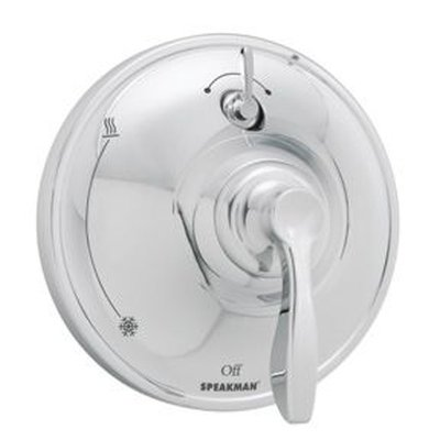 Speakman CPT-10400-P Chelsea Pressure Balance Diverter Shower Valve Trim, Polished Chrome (Valve Not (Transitional Pressure Balance Valve)