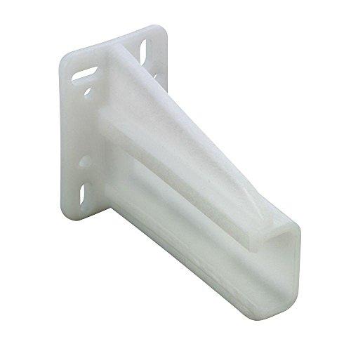 Blum White Drawer Slide Rear Socket for Blum Euro Slide Series 230M Only (2-Pack)