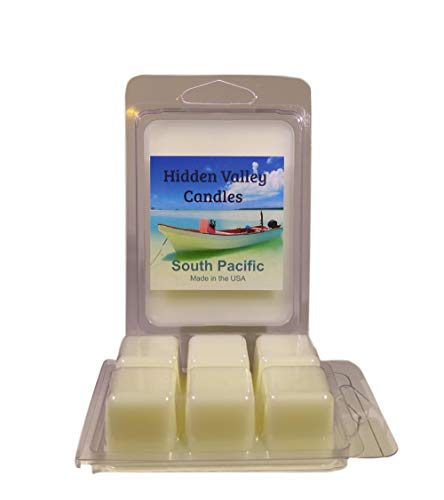 Hidden Valley Candles South Pacific Scented Wax Melts, 2 Pack. A Fruity Tropical Fragrance That You Will Love. ()