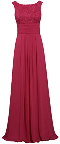 Evening Lace Prom Gown Burgundy ANTS Chiffon Dresses Tank s Women Long Pqwt8pU