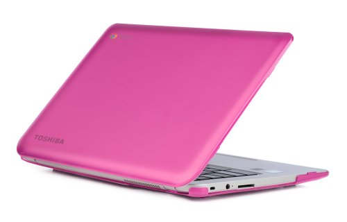 mCover mCover-Toshiba-CB35-Bxxx-Pink iPearl Hard Shell Case for 13.3-inch Toshiba ChromeBook 2 CB30 / CB35-Bxxxx (2014) and CB30 / CB35-Cxxxx (2015) series Laptop (NOT compatible with OLDER Toshiba CB30 / CB35-Axxxx (2013) series 13.3-inch Chromebook) (Pink)