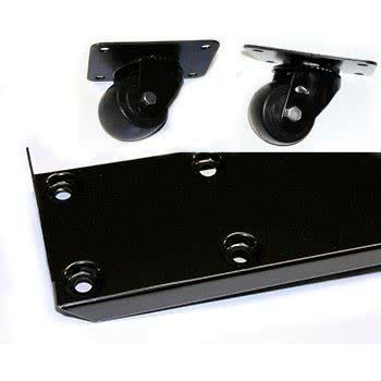 881087 2 1/2'' Casters with Frames - 4 / Set By TableTop King