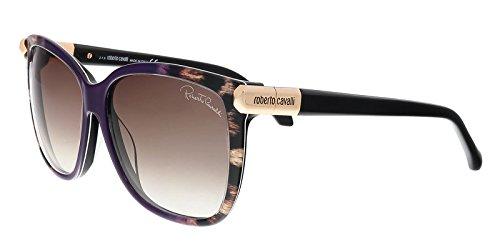 Roberto Cavalli Men's Designer Sunglasses, Pink/Gradient Brown, 57-14-135