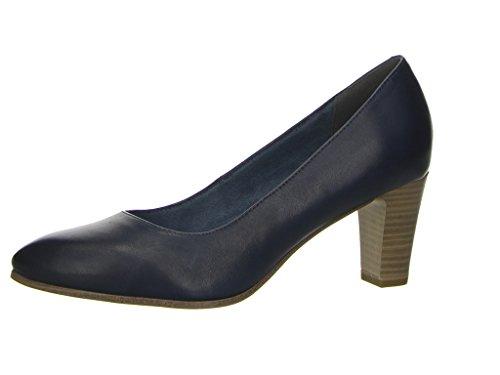 Tamaris22422 - Zapatos de Tacón Mujer azul (navy)
