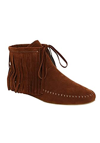 Fun Costumes Native American Shoes Size 8 (Size 8 Native Shoes)