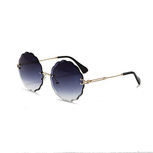 Dig dog bone Outdoor Sport Sunglasses,UV Protection,Women Stylish Color Polygonal Ocean Piece (Color : Purple/Black)