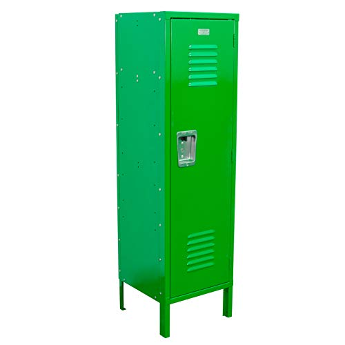 Kids Locker 15W x 15D x 54H Unassembled in 8 Amazing Colors (Green)