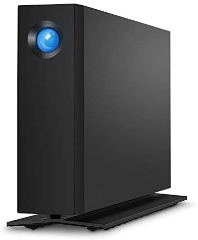 LaCie - STHA4000800 d2 Professional 4TB External Hard Drive Desktop HDD – USB-C USB 3.0 7200 RPM Enterprise Class Drives, 5 Year Warranty and Recovery Service (STHA4000800) Black
