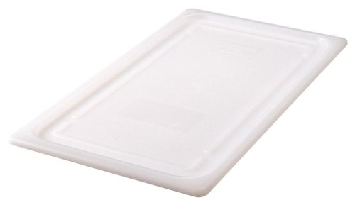 Rubbermaid Commercial Products FG147P00WHT Cold Food Pan Soft Sealing Lid, Full Size (Pan Sealing Lid)