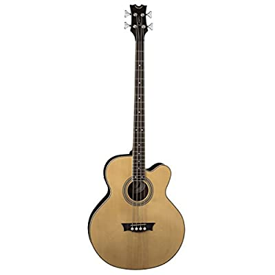 Dean Exotica Supreme Cutaway Acoustic-Electric Bass, Satin Natural