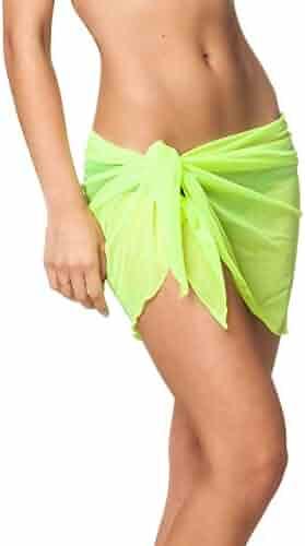 133fe7971dc61 Coqueta Mesh Cover up Swimwear Beach Sarong Pareo Canga Swimsuit Wrap