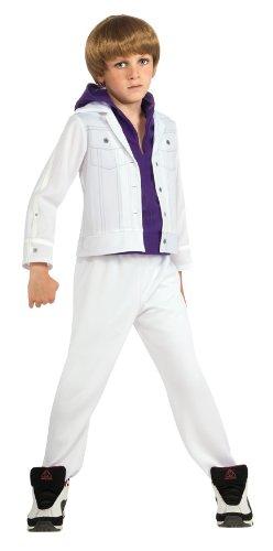 Bieber Fever Justin Bieber Costume - (Bieber Wig)