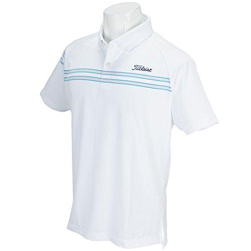 タイトリスト TITLEIST 半袖シャツ?ポロシャツ ライン ストレッチスムース半袖ポロシャツ
