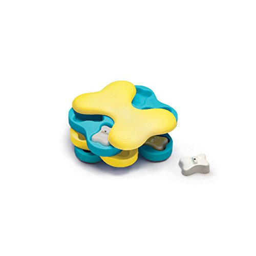 Outward Hound Nina Ottosson Dog Tornado Puzzle Toy - Stimulating Interactive Dog Game for Dispensing ()