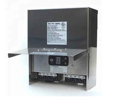 (600W Stainless Steel Low Voltage Landscape Light Transformer 12V)