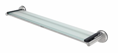 all Floating Shelf, Glass / Matt Steel, 427466 (Brabantia Matt)