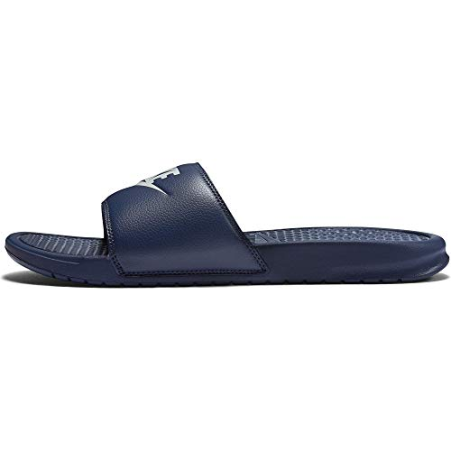 Nike Men's Benassi Just Do It Athletic Sandal, Midnight Navy, 7 D(M) US