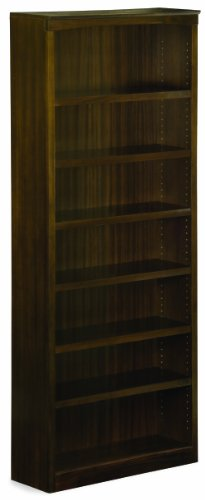 Harvard Book Shelf, 84-Inch, Antique Walnut (Bookcase 84 Wood)