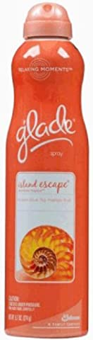 Glade Relaxing Moments Aerosol Island Escape, 9.7 Ounce - Moments Fig