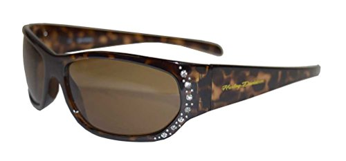 n's Sunglasses, Embellished Brown Frame & Lens HDS5024-TO-1 (Harley Davidson Prescription Sunglasses)