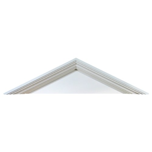 Fypon PCP56 56''W x 13 5/8''H x 4 1/2''P, Pitch 5 1/2 / 12 Peaked Cap Pediment