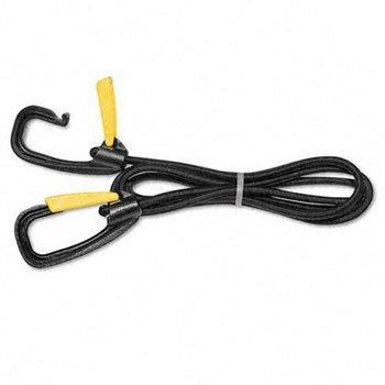 Kantek Bungee Cord - Kantek Bungee Cord with Locking Clasp STRAP,LOCKING BUNGEE,BK 5001M (Pack of10)