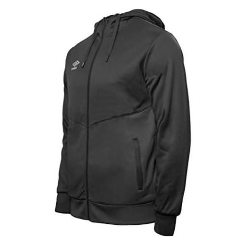 chollos oferta descuentos barato UMBRO Core Training Hooded FZ Jacket Chaqueta con Capucha Hombre Negro L