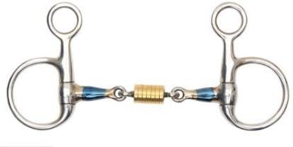 Arlington Mall Low price Shires Blue Sweet Iron Bit Roller Cheek Hanging