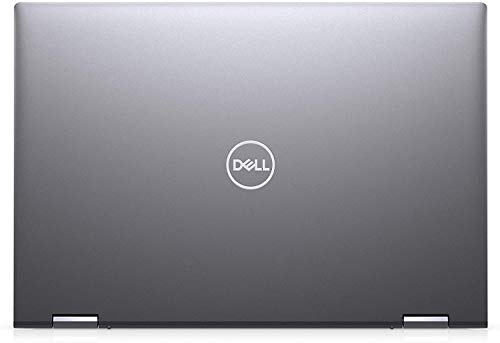 """2021 Newest Dell Inspiron 5000 2-in-1 Convertible Laptop, 14"""" FHD Touch Display, Intel Core i5-1035G1, 16GB RAM, 256GB SSD, HDMI, Webcam, Backlit Keyboard, WiFi, Bluetooth, FP Reader, Win10 Home, Grey"""