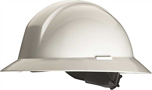 White Thomas Scientific Ratchet Adjustment Honeywell A49R010000 A49R Everest Full Brim Hard Hat