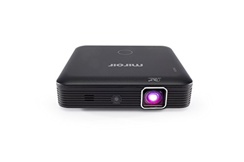 - Miroir HD Mini Projector MP160, LED Lamp, with Built in Rechargeable Battery, 720p and HDMI Input