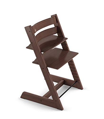 Tripp Trapp by Stokke Adjustable Wooden Walnut Brown High Chair (Chair Only)