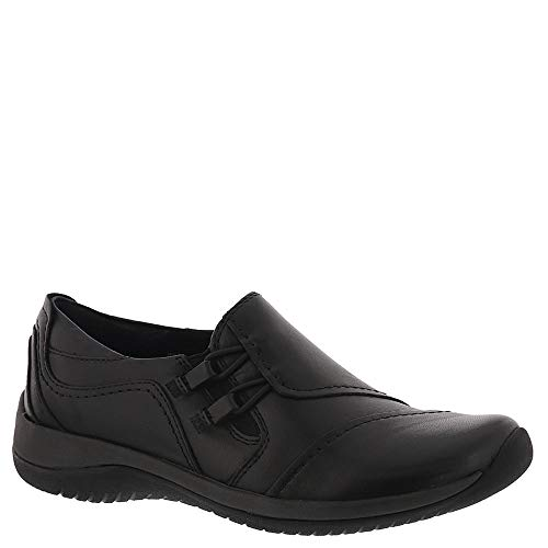 Earth Womens Hawk Leather Slip On Shoes, Black, US 9 - Hawk Foam Football