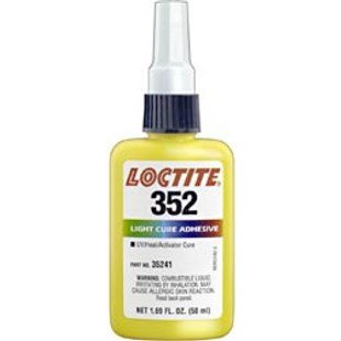 Loctite 442-35241 50 ml. 352 Uv Light Cure Adhesive