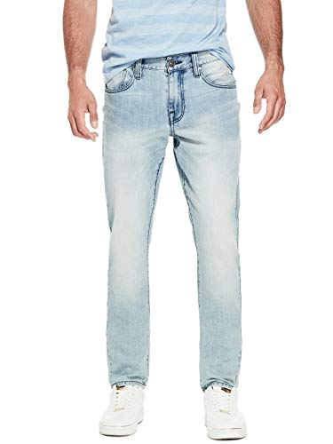 GUESS Factory Men's Halsted Slim Tapered Jeans ()