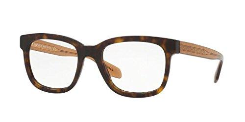 Versace Men's VE3239 Eyeglasses Havana - Versace Havana Eyeglasses