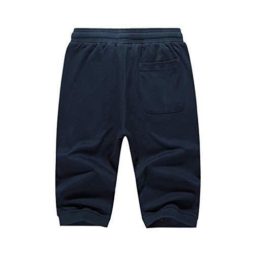 Casuale Nashidkx Cotone Maglia Di Estate Addestramento Da Super Jogging Pantaloni Uomini Xl traspirante Degli wxZgqxBnU