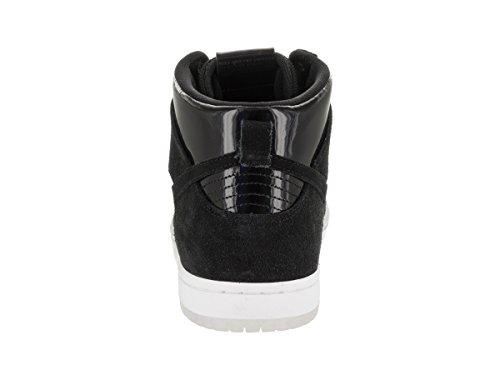 Nike Men's SB Zoom Dunk High Pro Black/Black White Clear Skate Shoe 6 Men US by Nike (Image #3)