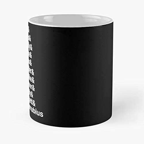 Mulder Scully Skinner Aliens - Funny Sophisticated Design Great Gifts -11 Oz Coffee Mug.the Best Gift For Holidays.