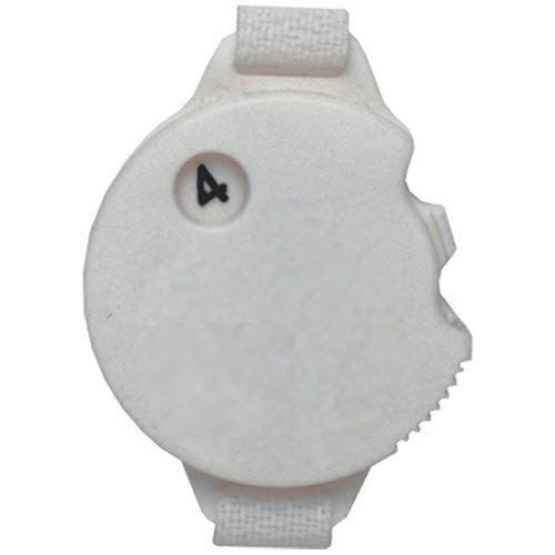 (Daft Golfer Golf Stroke Counter with Glove Fastener Strap (4-Pack))