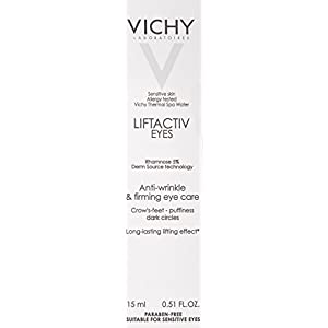 Vichy LiftActiv Eyes Anti-Wrinkle and Firming Eye Cream with Caffeine for Dark Circles and Under-Eye Bags, 0.5 Fluid Ounce