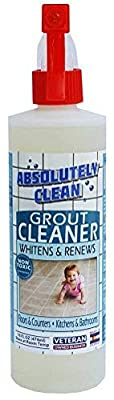 Absolutely Clean, Natural Enzymes Grout Cleaner for Floors, Countertops, Kitchens and Bathrooms