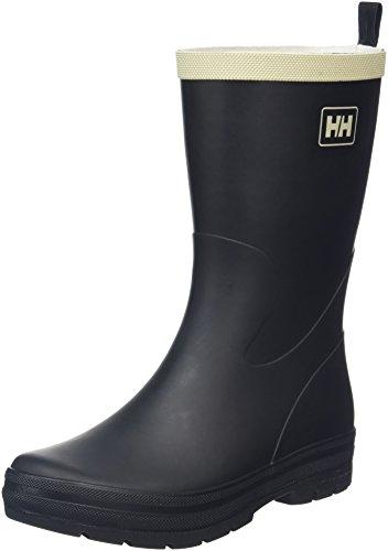 Helly Hansen Women's Midsund 2 Rain Boot, Black/Natural, 8 M US