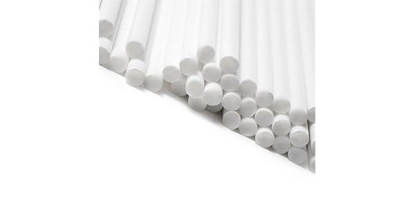 x5000 114mm x 4mm Rainbow Colour Plastic Lollipop Sticks Cake Pop Bulk Wholesale