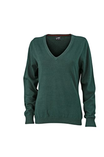 James & Nicholson clásico de algodón Sudadera forest-green