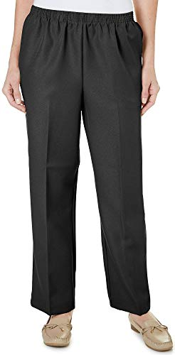 Alfred Dunner Pull-on Pants Black ()