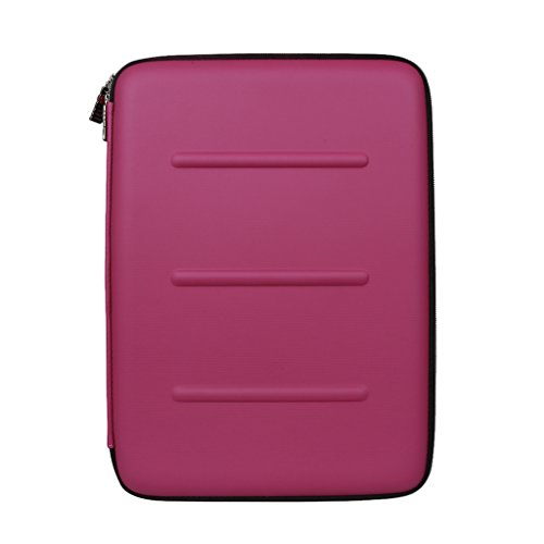 Homyl EVA Waterproof Laptop Sleeve Case Cover Protective Bag for Macbook Air 11'' Rose Red