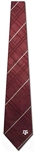 Eagles Wings Texas A&M Aggies Oxford Woven Silk Tie