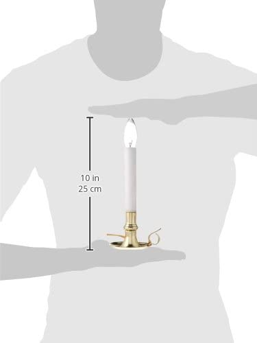 Darice Chamber Electric Brass Base Candle lamp
