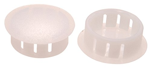 The Hillman Group 58139 3/4-Inch Natural Nylon Hole Plug, 10-Pack ()